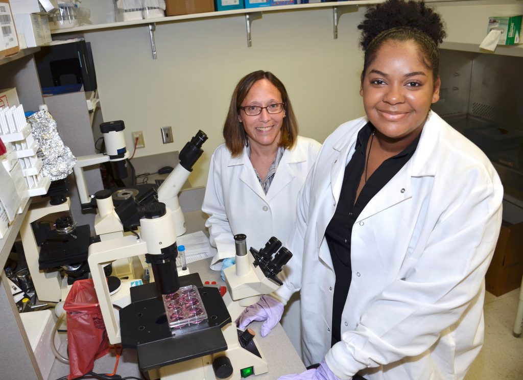 City High 4.2 GPA student Cierra Saunders discovers she is a natural in an advanced medical research laboratory.