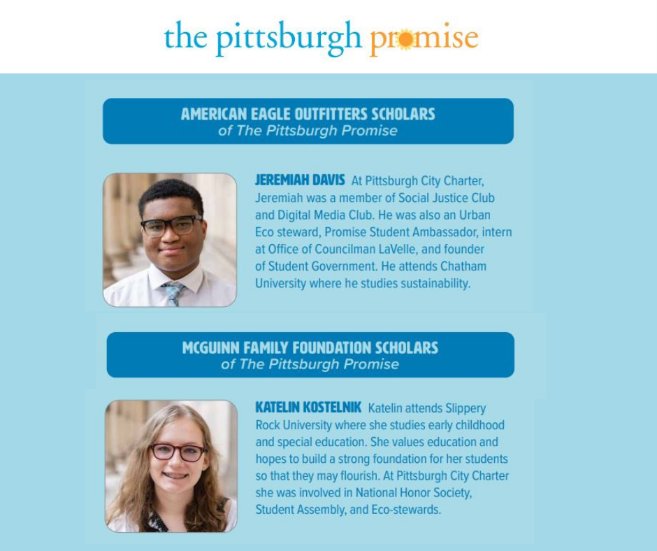 2020 City High Grads Earn Recognition as Pittsburgh Promise Scholars