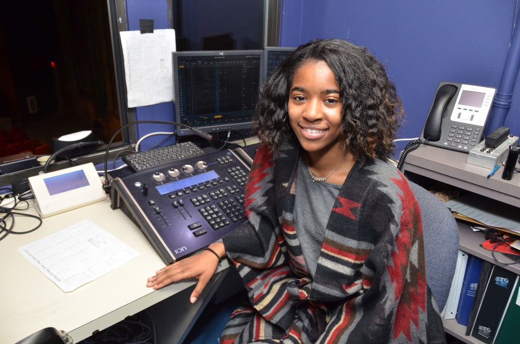 Theater Major Intern Gets Behind the Curtain Experience at Kelly-Strayhorn Theater.